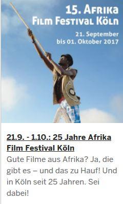 15. AFRIKA FILM FESTIVAL KÖLN